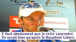 Tom Boonen gagne l'étape, Vladimir Gusev le Tour de Belgique