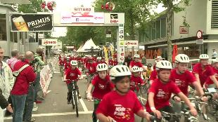 Kinderen stelen show op Eneco Kids Ride