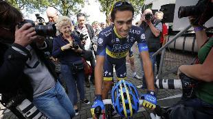 Contador maakt rentree in Eneco Tour