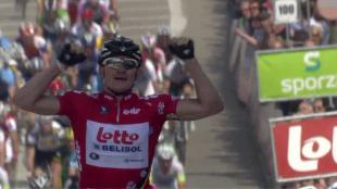 Twee op twee voor Greipel in Bank van De Post Ronde van België