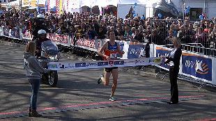 Van Peborgh volgt zichzelf op in DVV Antwerp 10 Miles