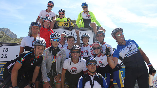 Alle 2.300 deelnemers veroveren de Galibier