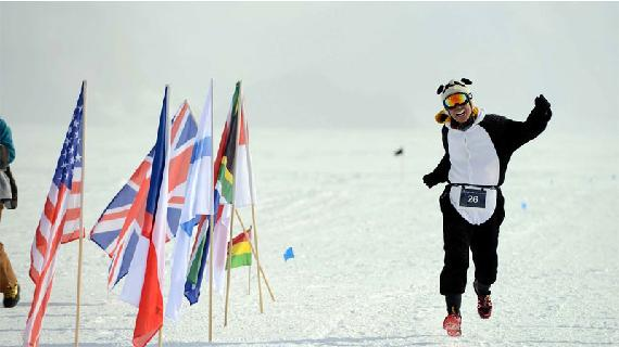 Marathon bij -30°C