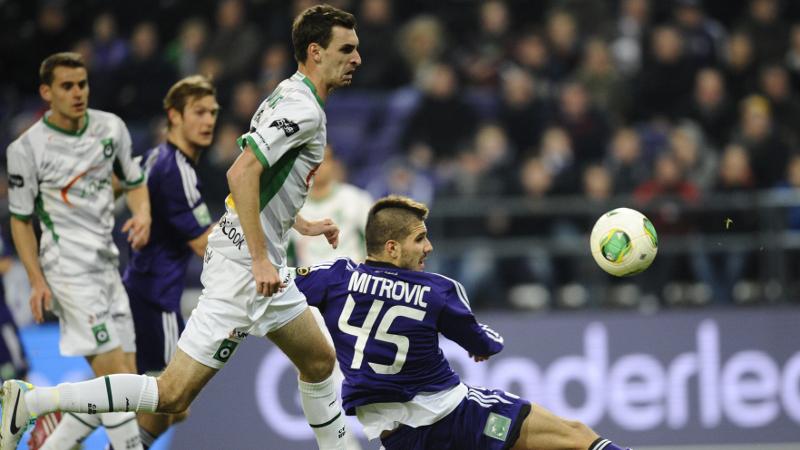 Mitrovic verlost Anderlecht