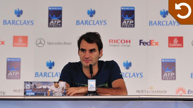 Federer kijkt terug op 2013