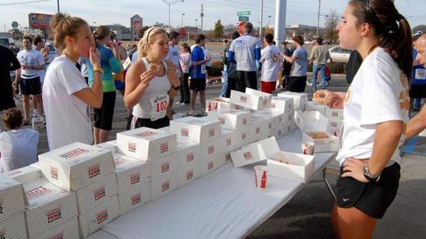 Lopers eten 342.000 donuts