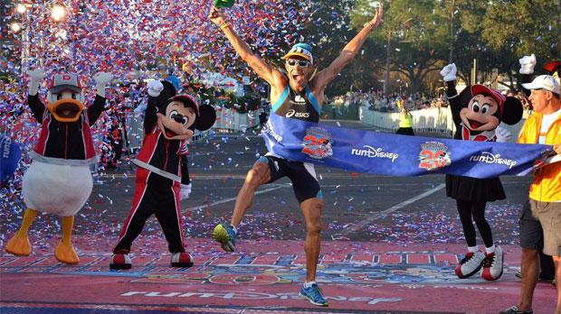 25.000 marathonlopers in Disney World