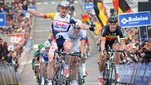 Greipel klopt Boonen in Knokke-Heist