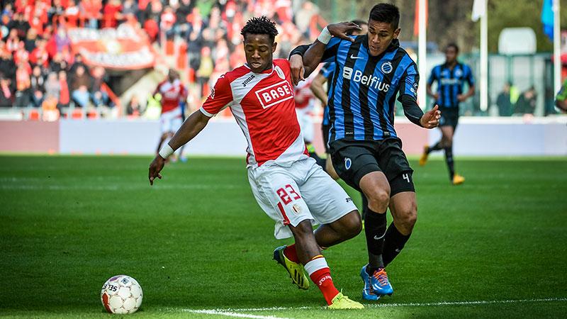 Standard en Club Brugge houden elkaar in evenwicht