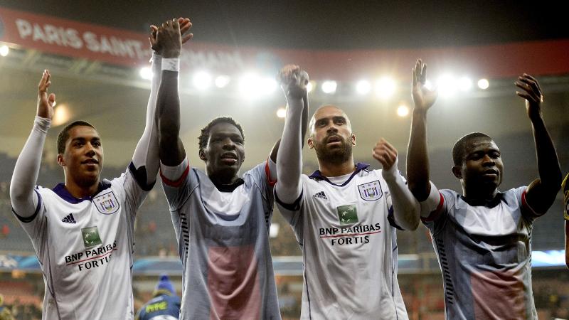 Anderlecht raapt onverhoopt puntje in Parijs
