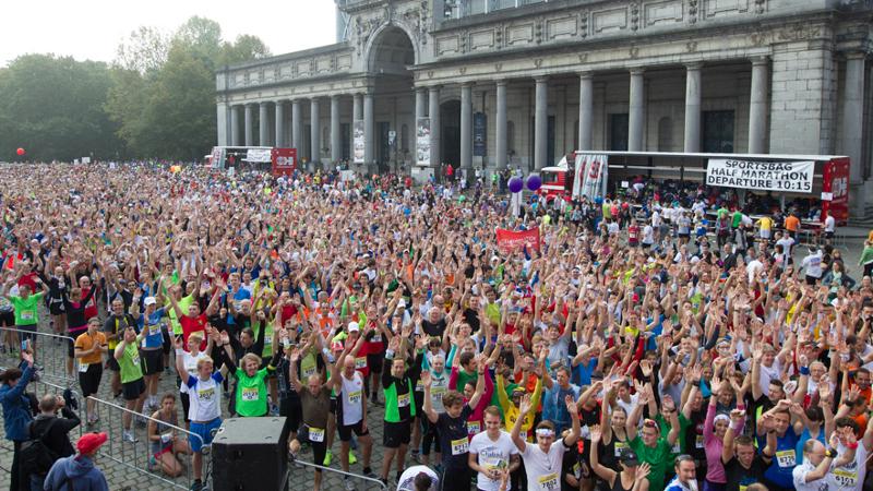 Bungei wint recordeditie Brussels Marathon