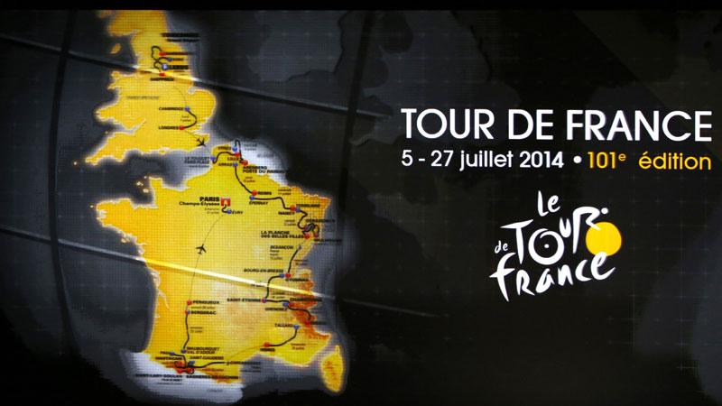 Geen verrassingen in parcours Tour 2014