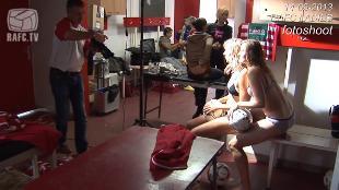 RAFC Ladies gaan uit kleren