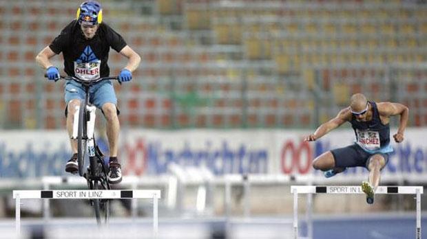 Hordenloper vs trialbiker