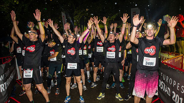 Sfeerreportage Night Run 2013