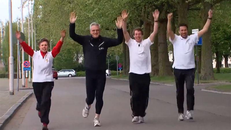 Kris Peeters verkent 10 Miles-parcours