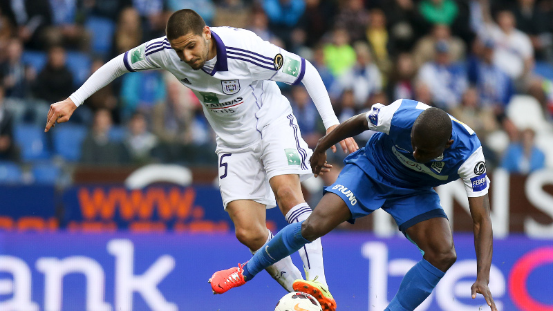 Hard strijdend Genk klopt Anderlecht