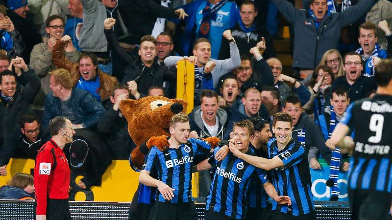 Club Brugge wipt naar koppositie na winst tegen Genk