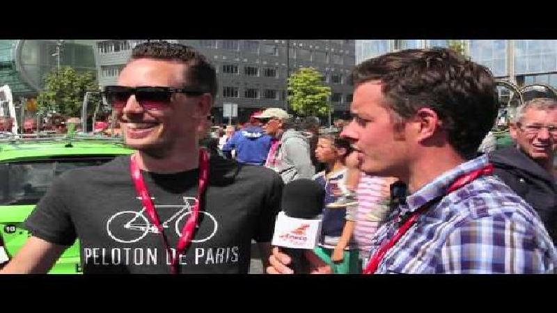 Eneco Tour #wielerwens: Belkin mecanicien