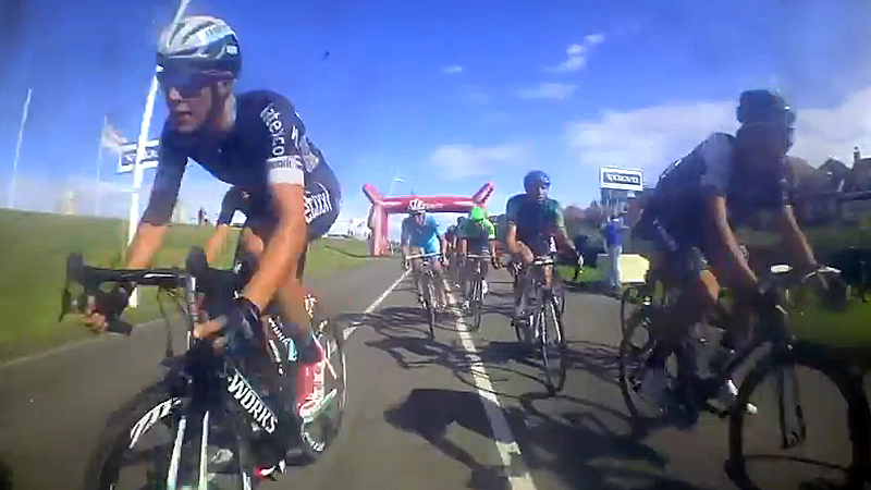 Enjoy the extraordinary bike cam pictures!