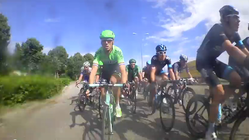 Bike cam pictures: 'A smile on the face of Lars Boom'