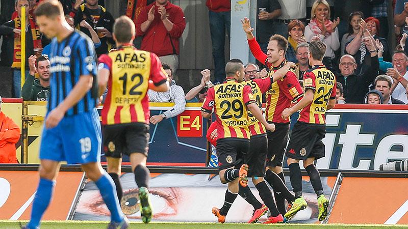 Matig Club Brugge verliest bij gretig Mechelen
