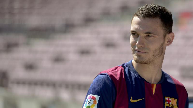 Vermaelen voorgesteld in Camp Nou