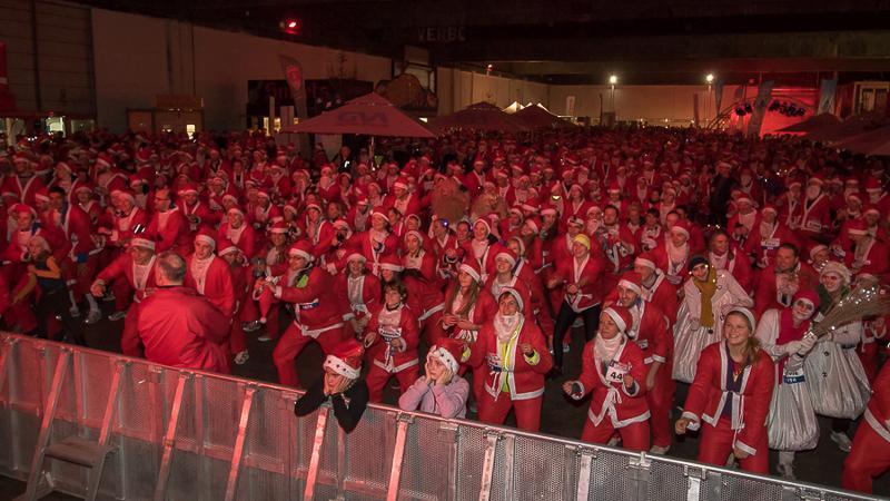 5000 Santa's palmen Antwerpen in
