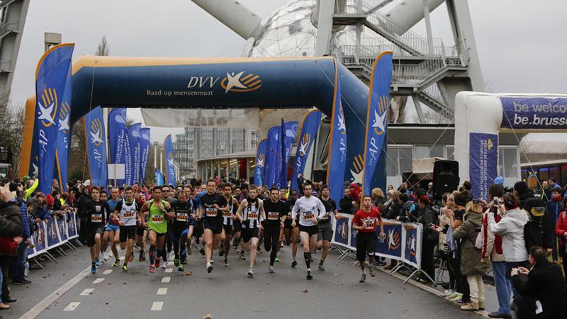 Brussel sluit recordjaar DVV Running Tour af