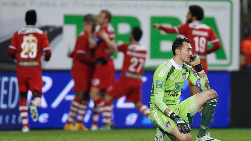 Anderlecht opnieuw met de billen bloot voor Europese wedstrijd