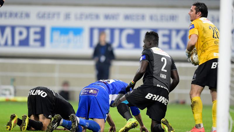 Oneindig veel kansen, maar geen doelpunt voor AA Gent