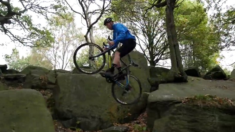 Trialbiker goes cyclocross (VIDEO)
