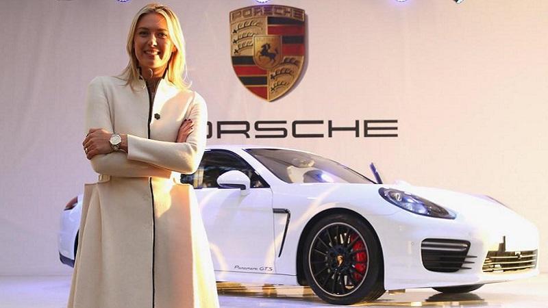 Maria Masha Sharapova Porsche