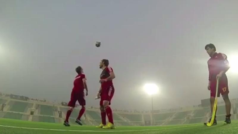 Red Lions tonen voetbalskills