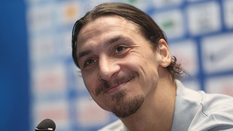De valk van Zlatan
