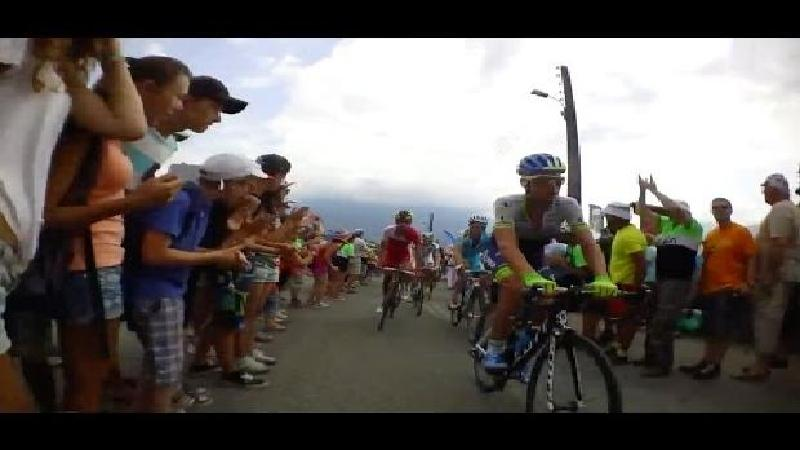Zo daalt Keukeleire de Tourmalet af (VIDEO)