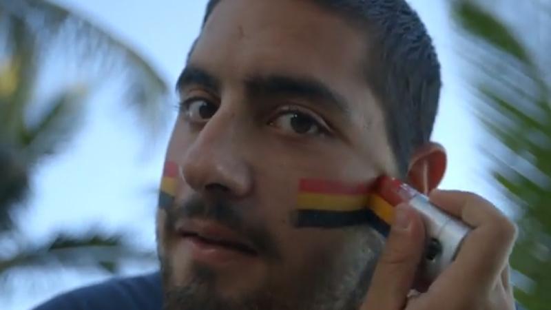 Brazilianen duimen voor België