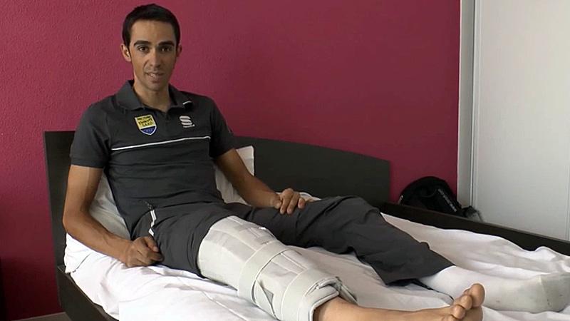 Contador: 'Vuelta wordt moeilijk'