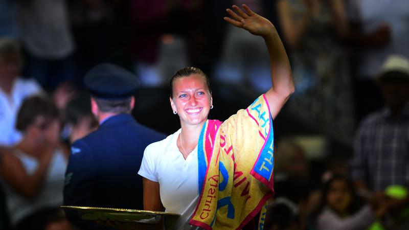 Kvitova: 'Nog werk als ik zo vaak wil winnen als Martina'
