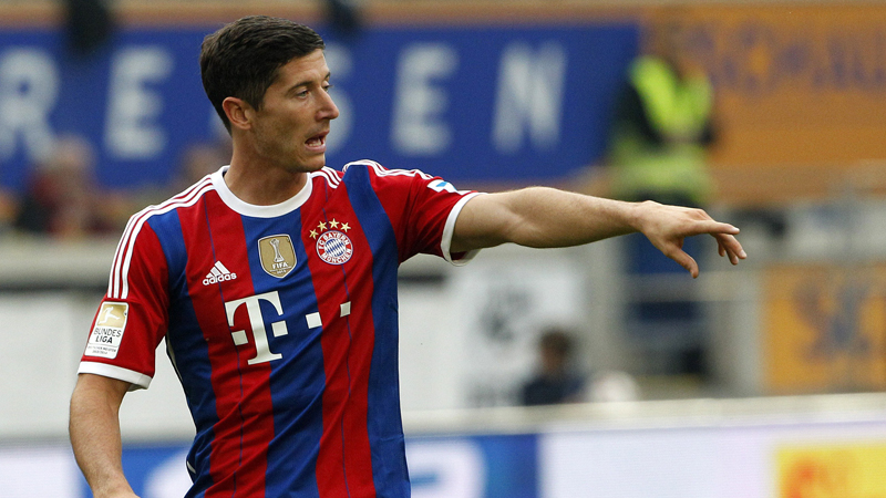 Un but sensationnel de Robert Lewandowski