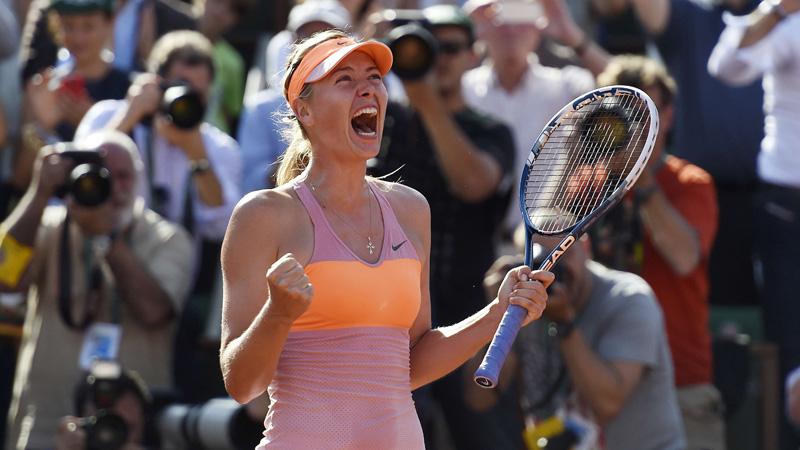 Sharapova wint beste finale in jaren