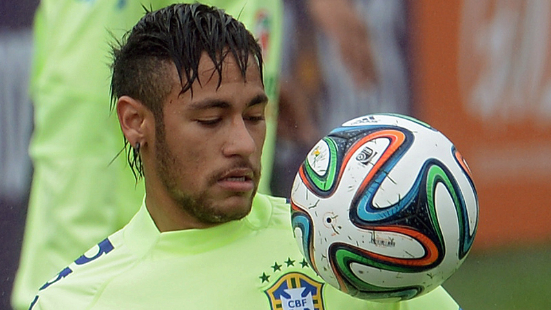 De sublieme strafschop van Neymar
