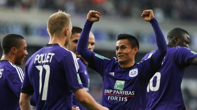 Anderlecht walst over Oostende