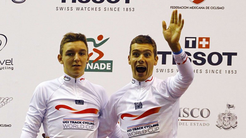 De Ketele en De Buyst (even) wereldkampioen ploegkoers