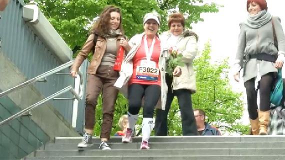 Marathonlopers vs trappen