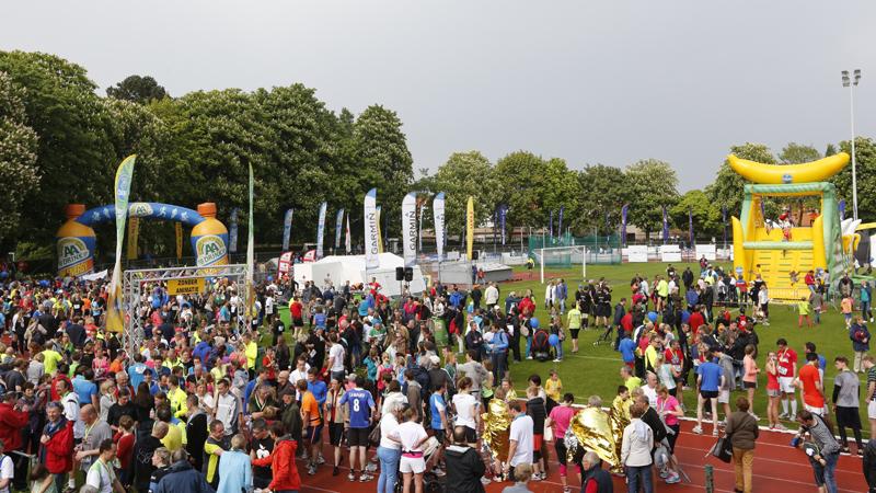 Topeditie Knokke 10K ondanks regen