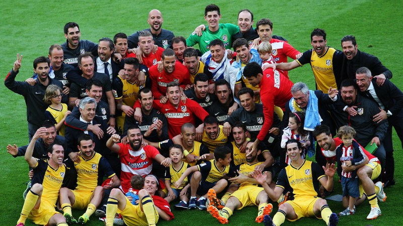 Atletico pakt titel in Barcelona