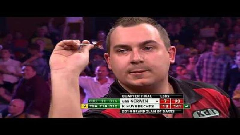 Huybrechts on fire! (VIDEO)