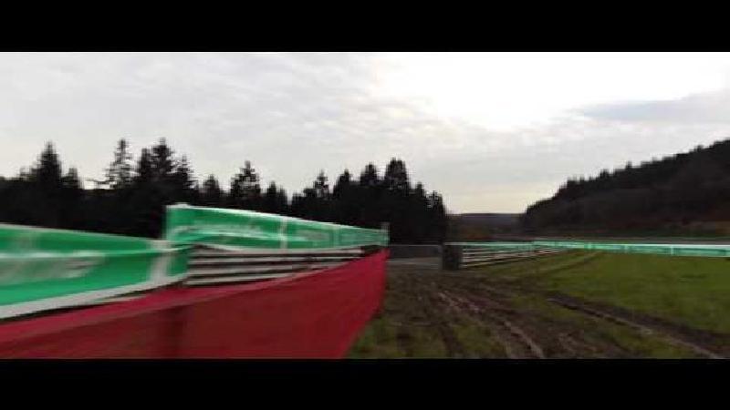 Vervecken reconnaît le parcours (VIDEO)
