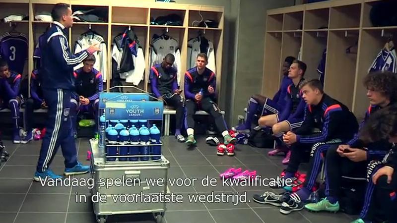 Anderlecht haalde de mosterd bij de .... beloften (VIDEO)